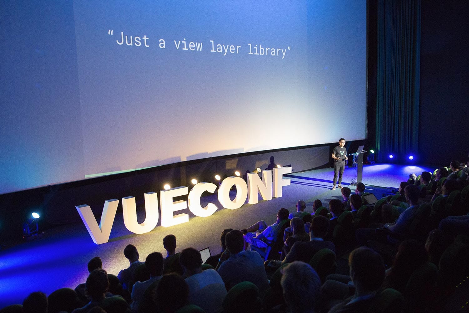 Evan You keynote during Vue Conf