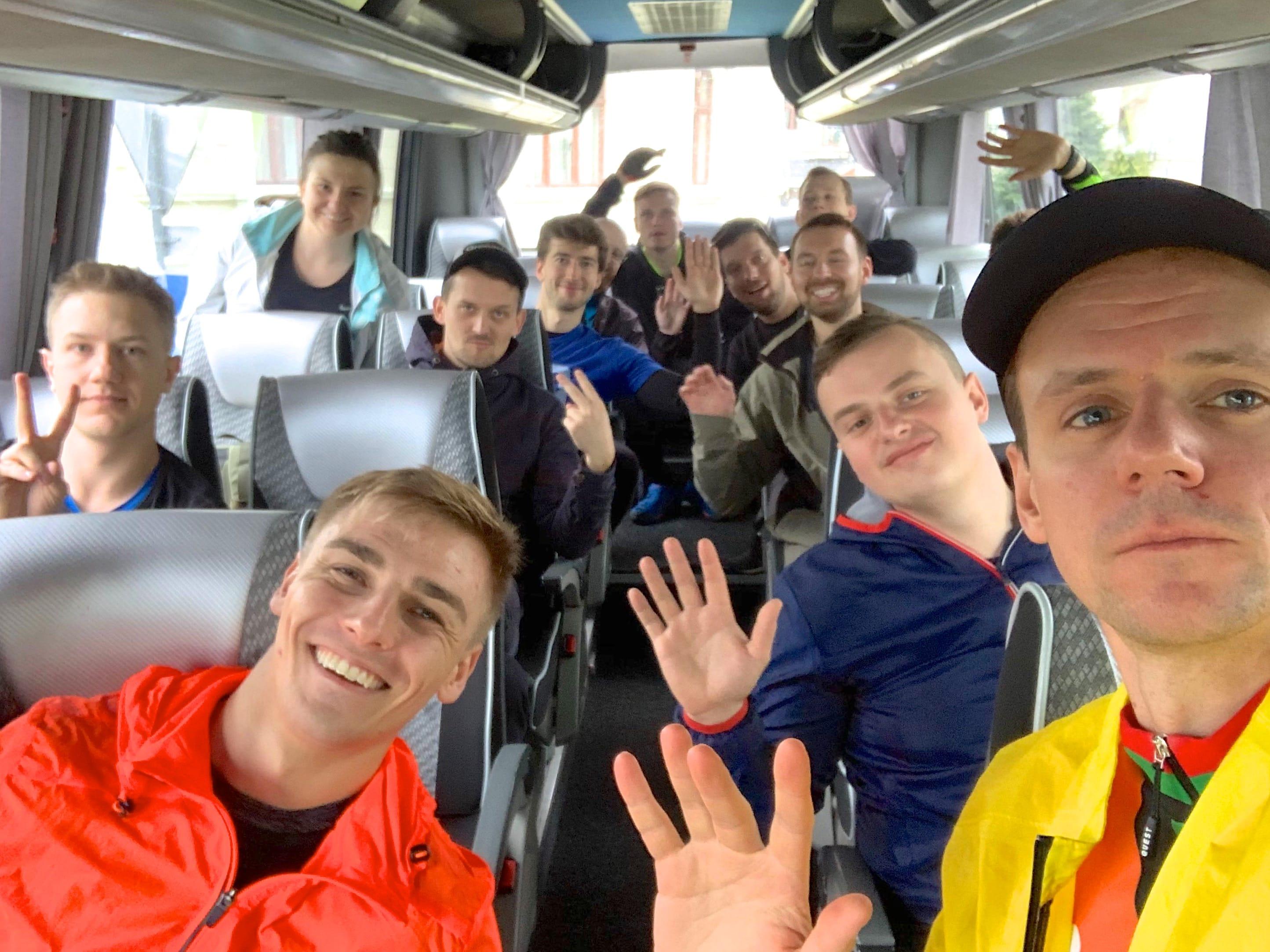 Company Retreat 2019 - bike team