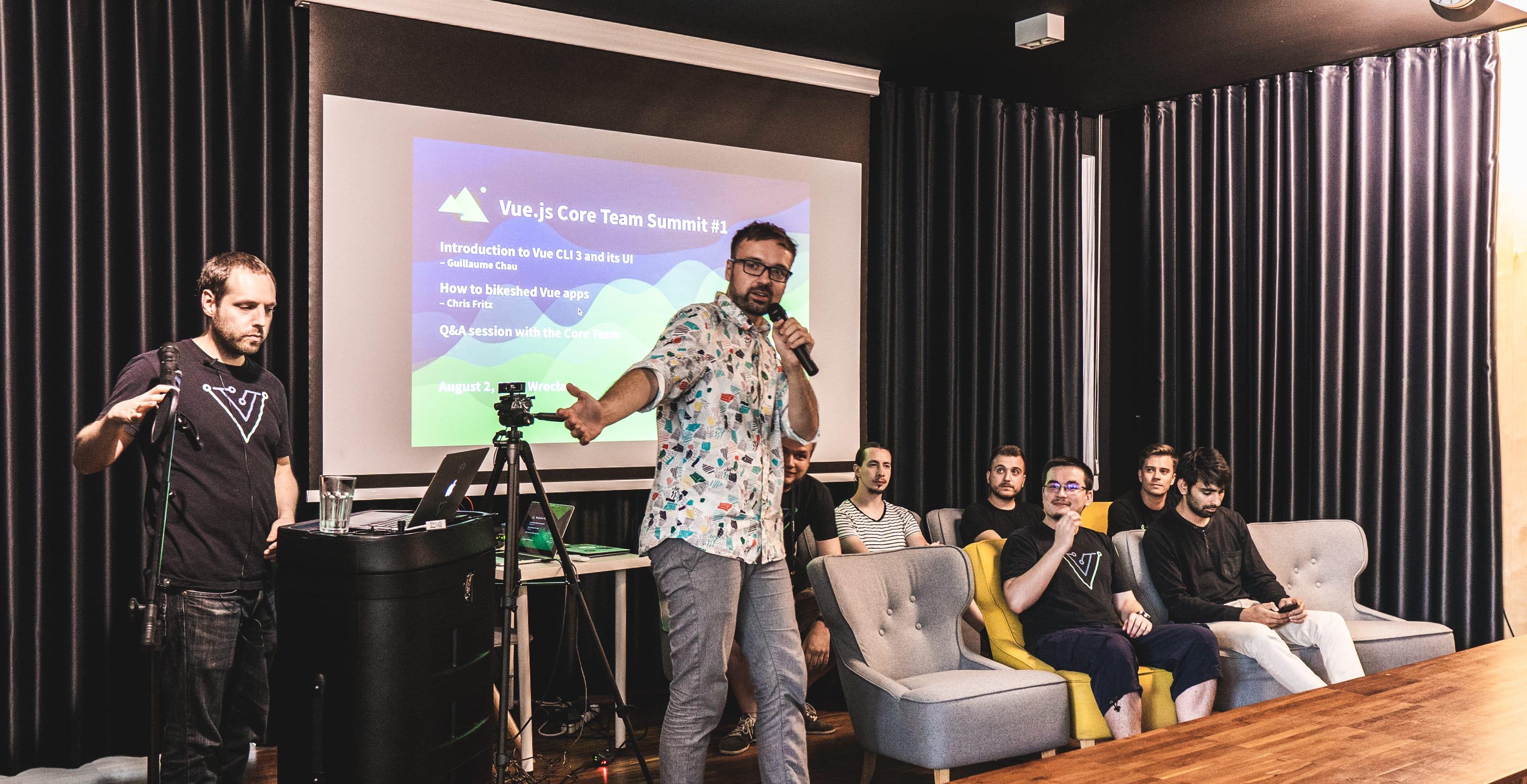 Vue.js Core Team visit in Wrocław, Monterail