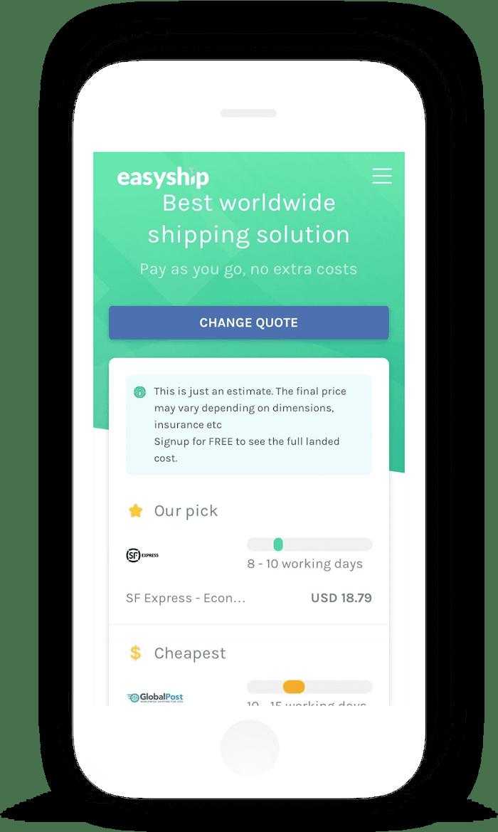 easyship-mobile-view