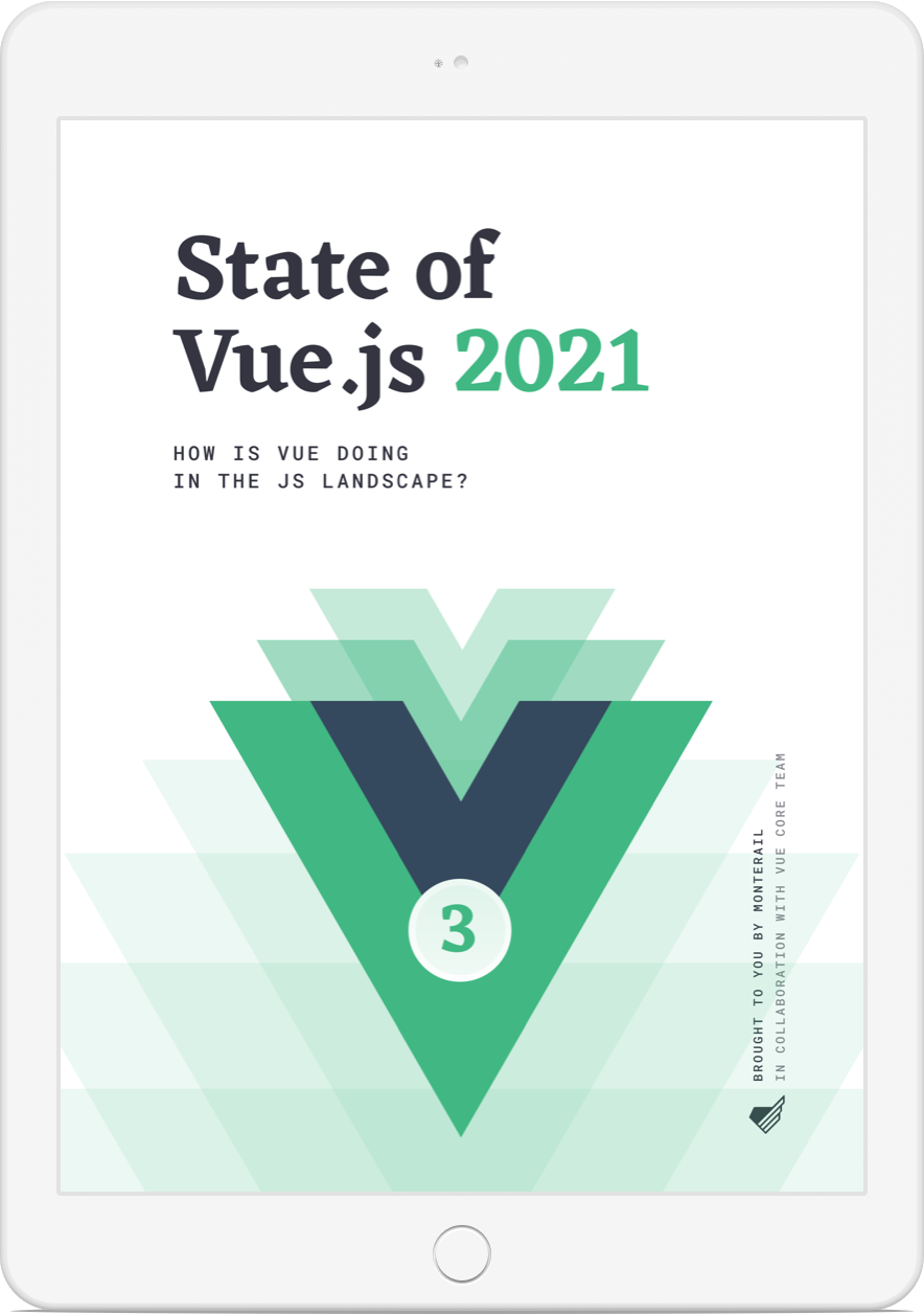 State of vue 2021 cover book