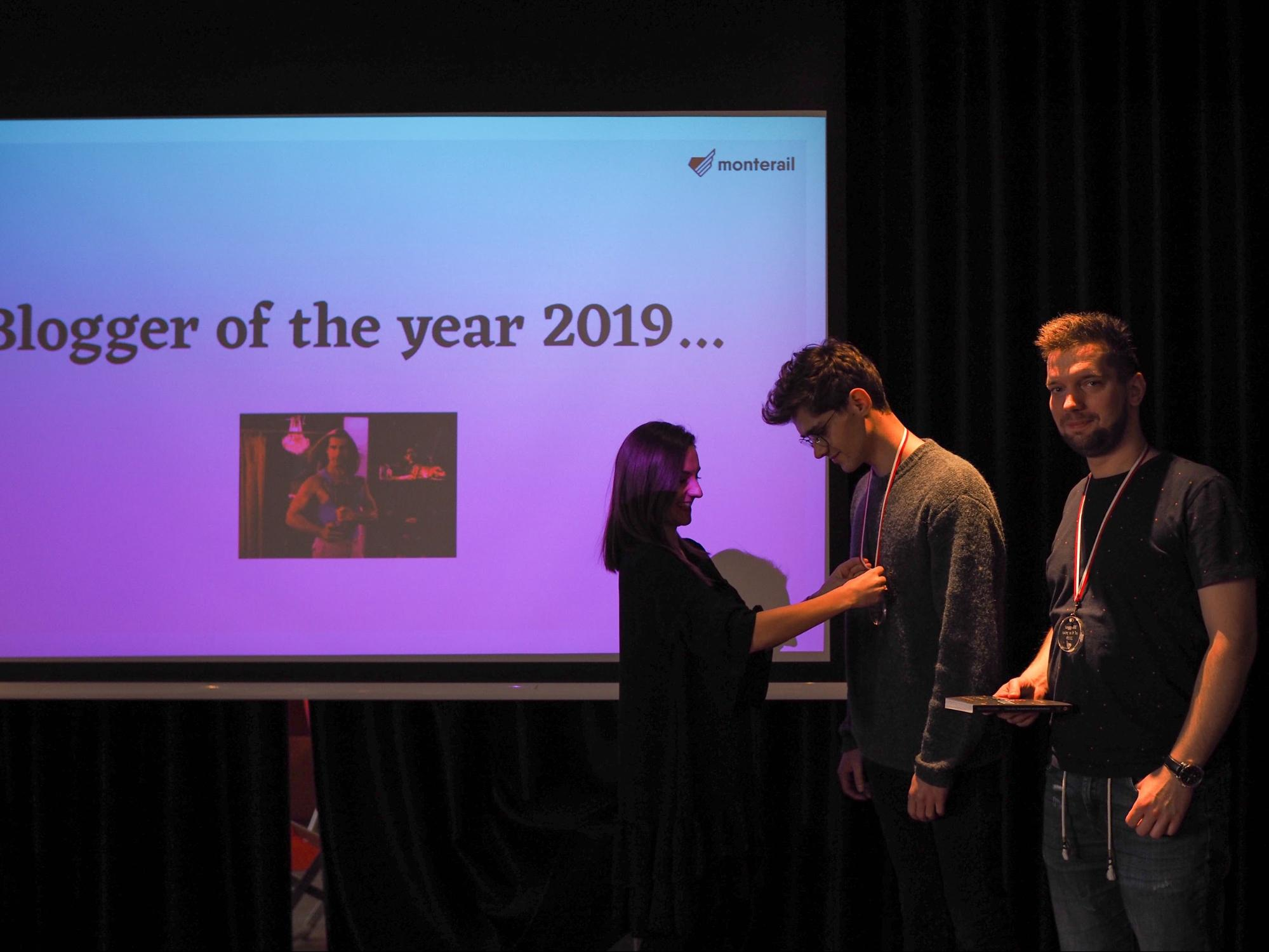 Monterail Blogger of the Year 2019