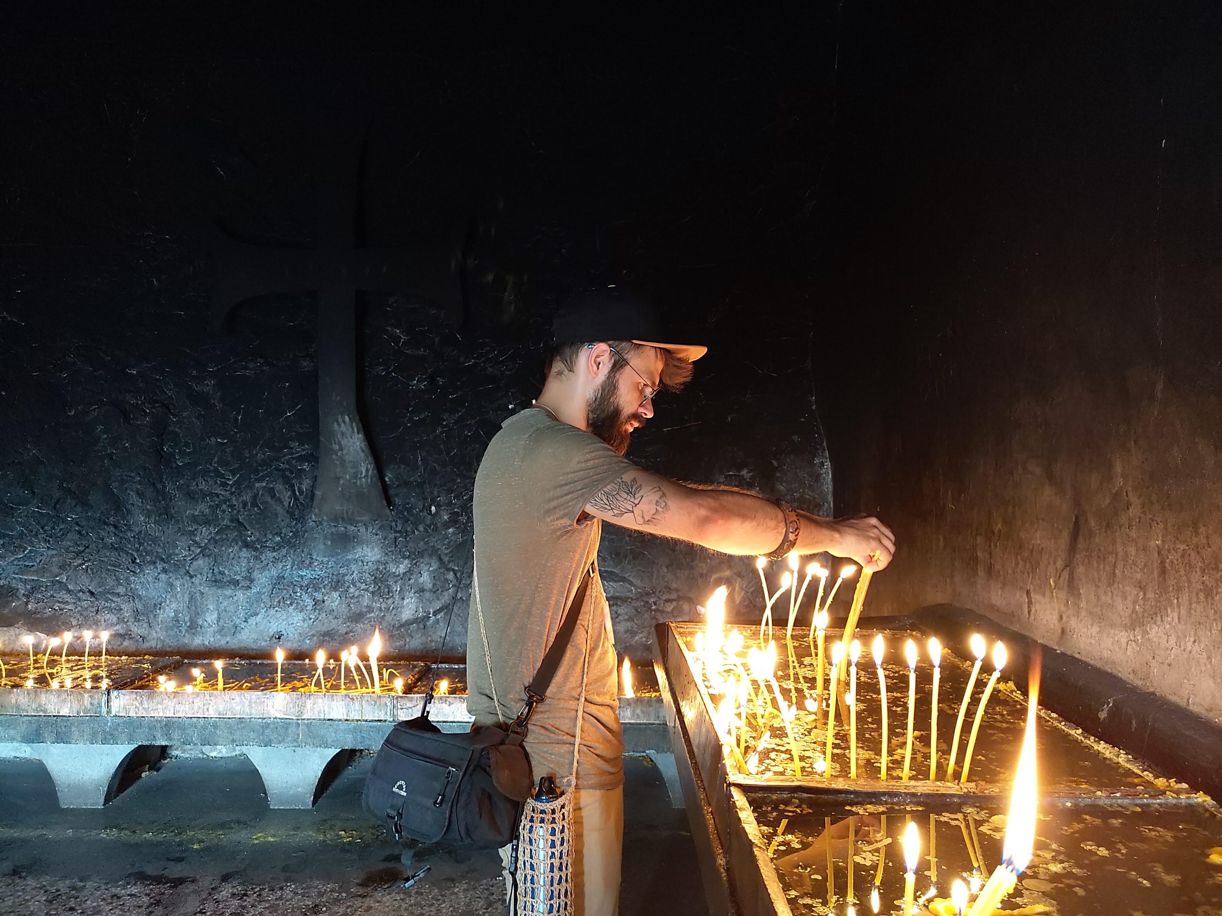 Monterail employee on sabbatical - Paweł in Balcans.