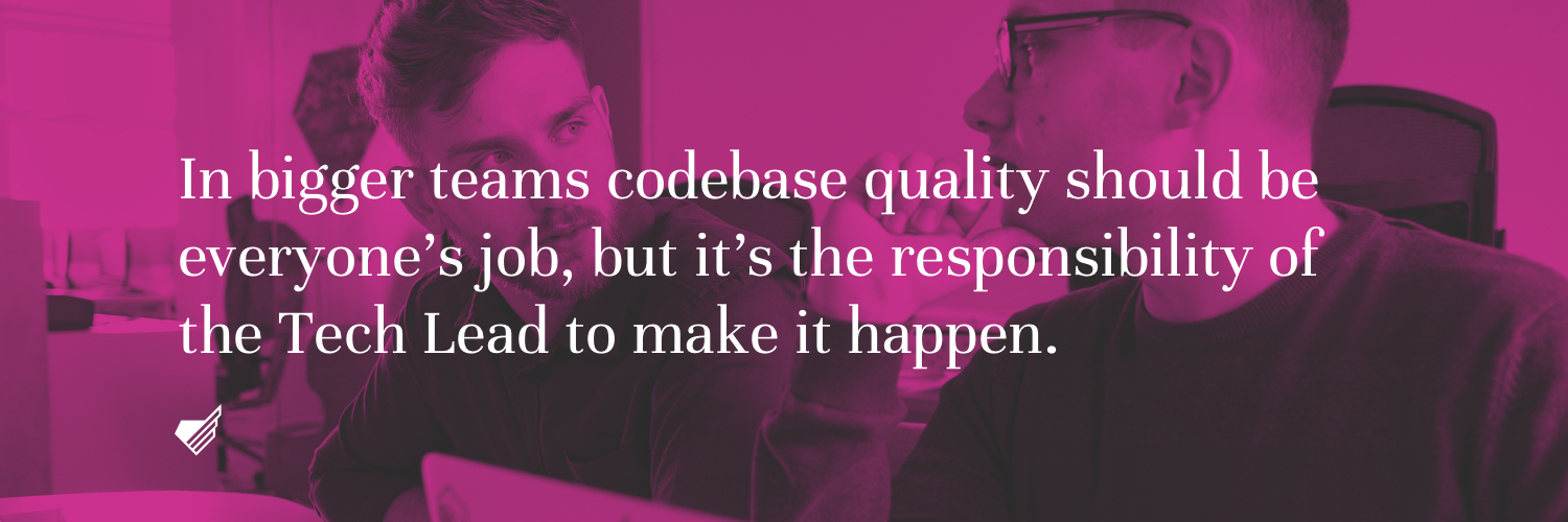 TechLead codebase quality