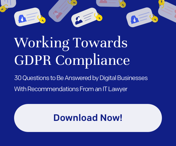 GDPR—30 questions for digital and IT businesses