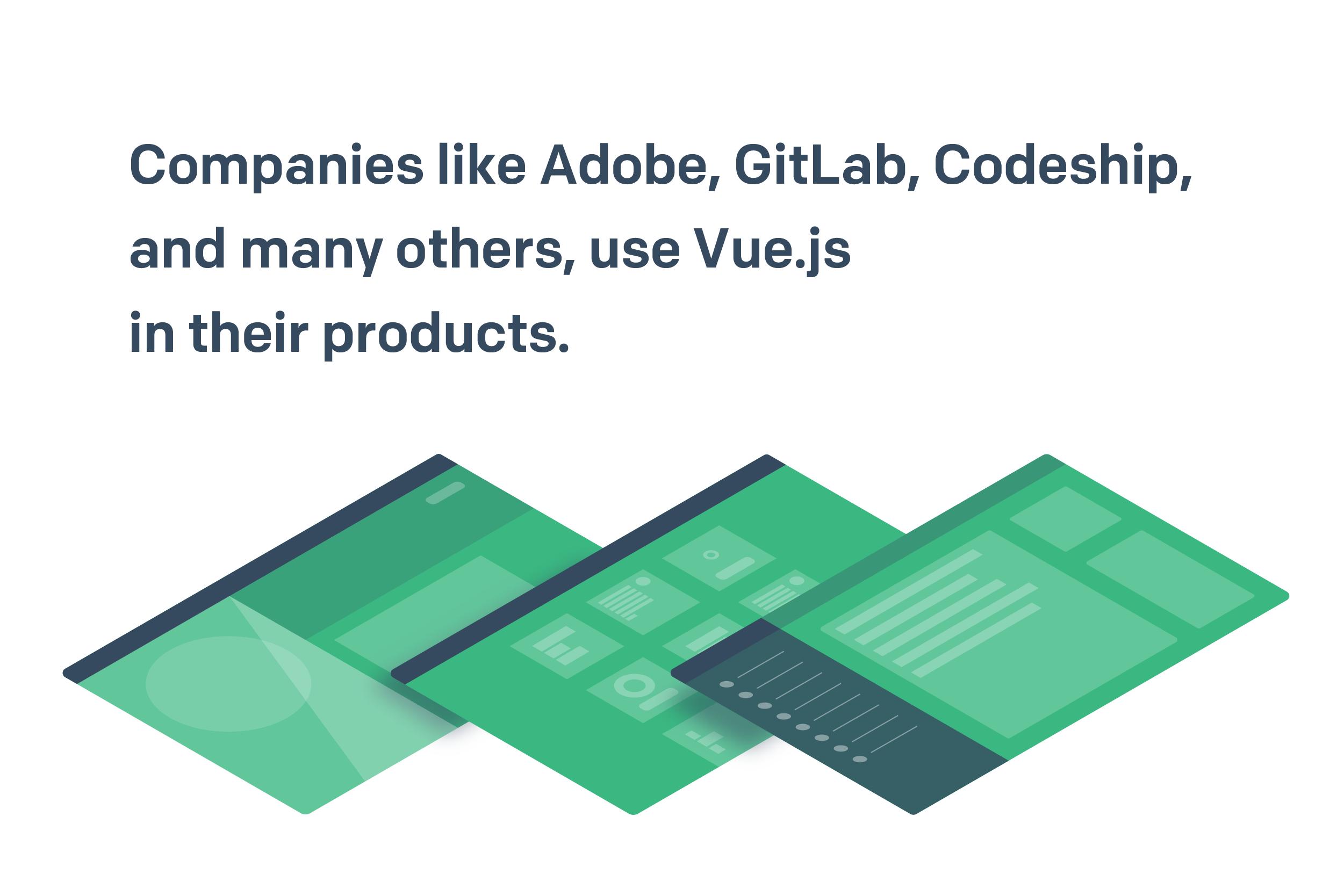 Vue.js for commercial purposes