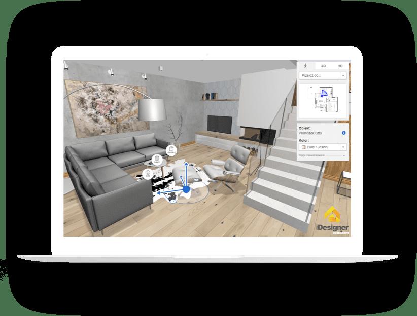 Extradom.pl iDesigner app - Monterail Projects