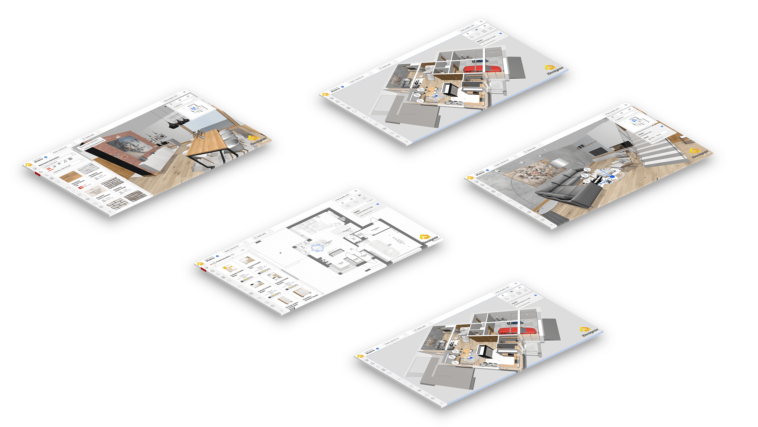 Extradom.pl iDesigner app mockups - Monterail Projects