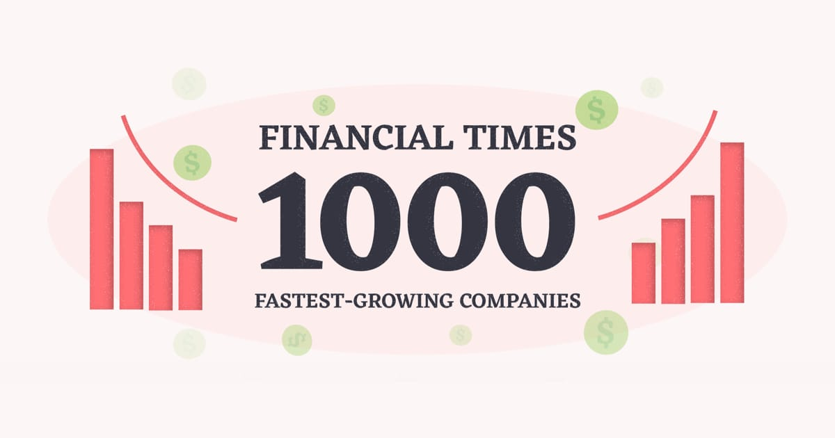 Monterail in Financial Times 1000 fastest growing companies
