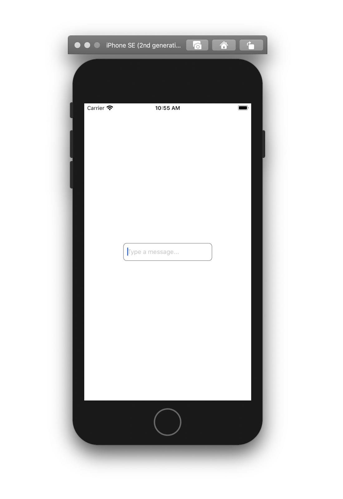 Vue Native app example