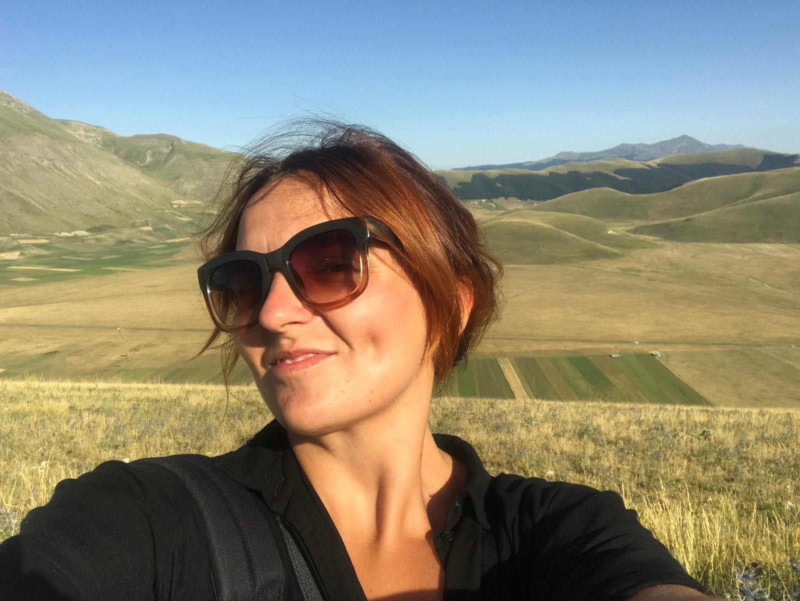 Monterail employee on sabbatical leave - Marzena in Italy.
