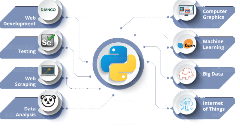 Where Python finds its use
