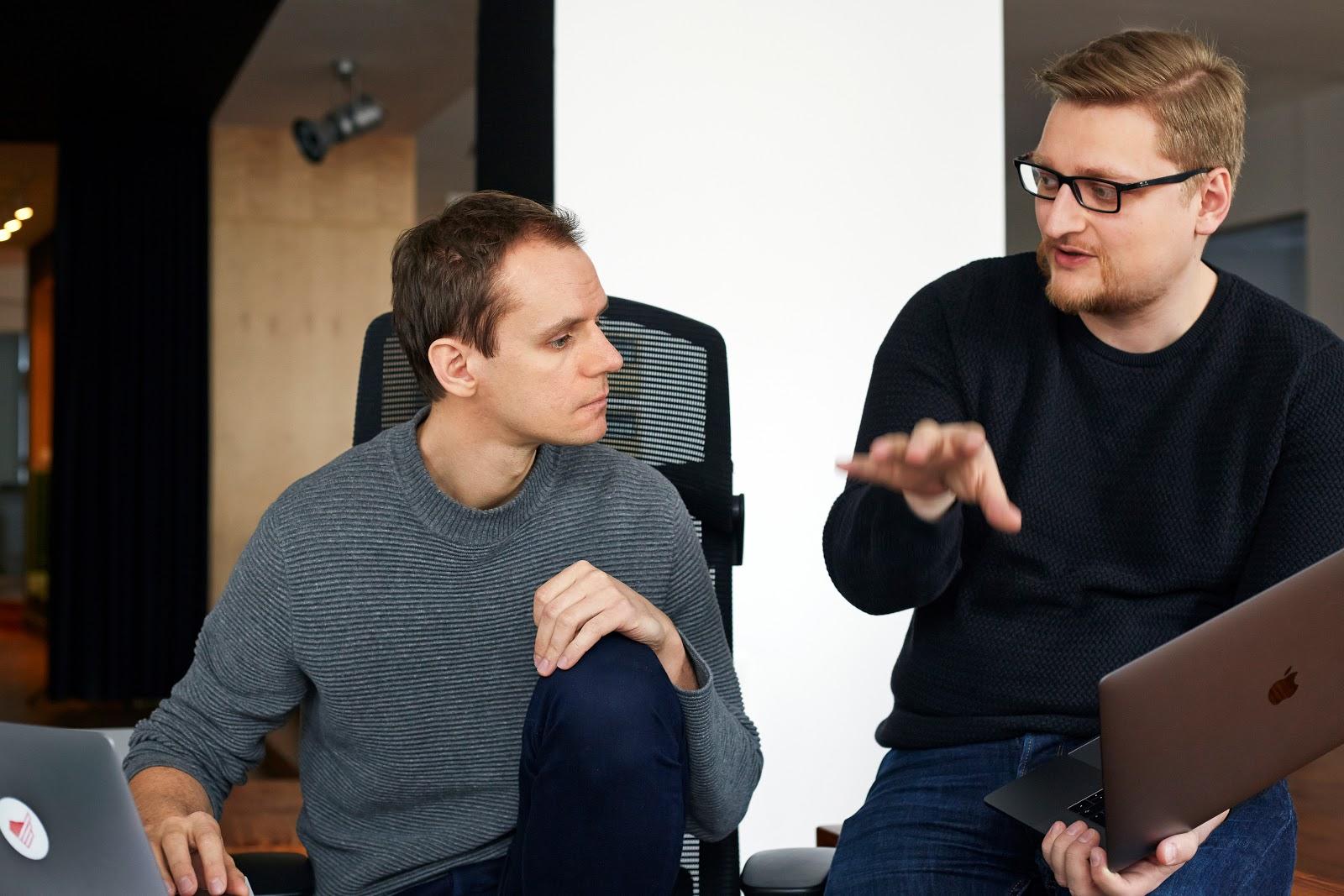 Szymon Boniecki and Bartosz Rega - Monterail co-CEOs
