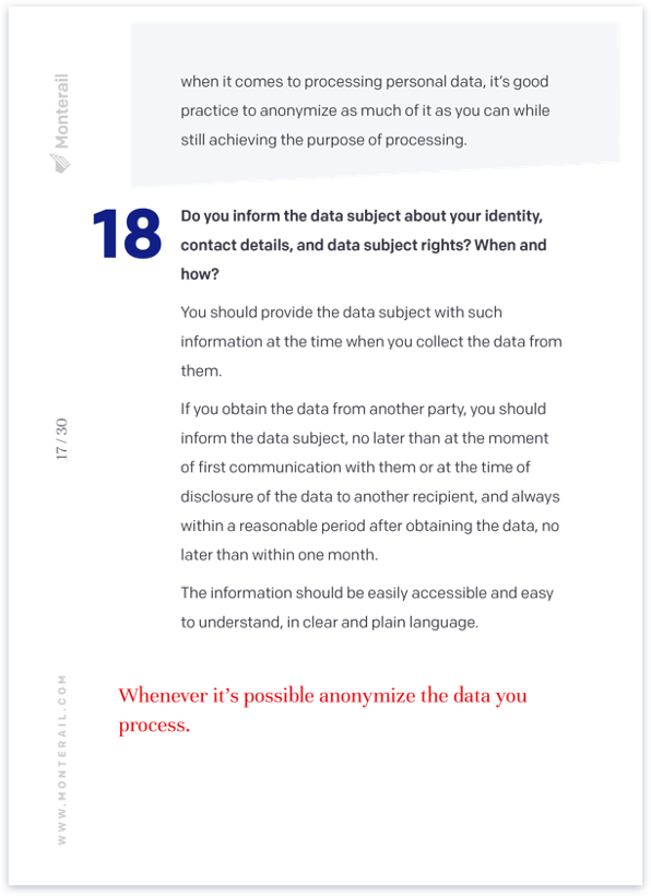 Question 18 in GDPR whitepaper