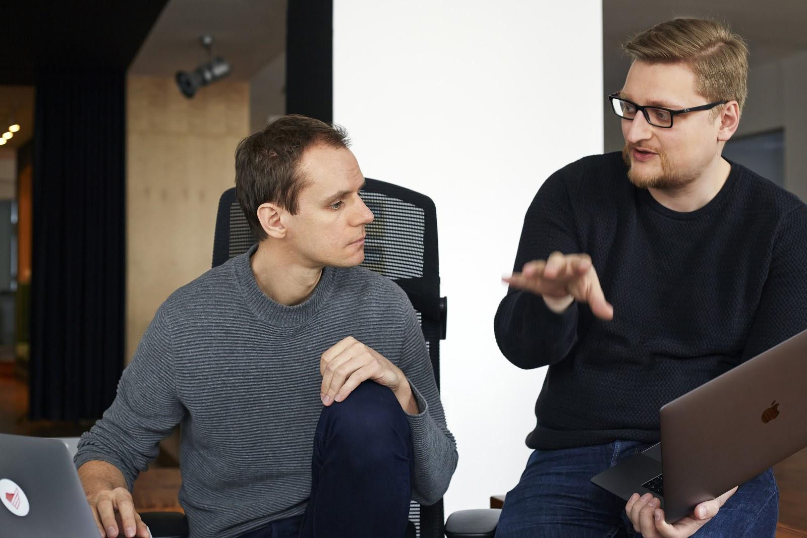 Szymon Boniecki and Bartosz Rega