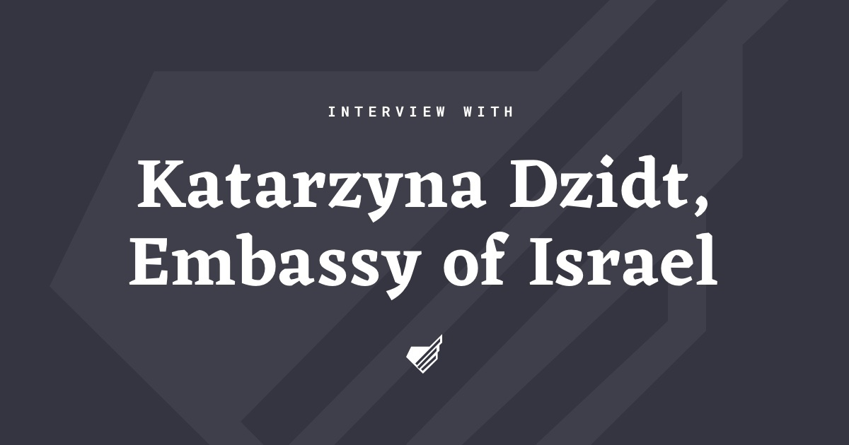 Interview with Katarzyna Dzidt
