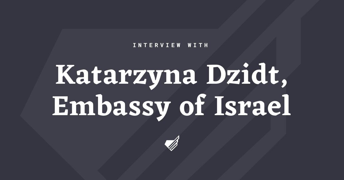 Interview with Katarzyna Dzidt
