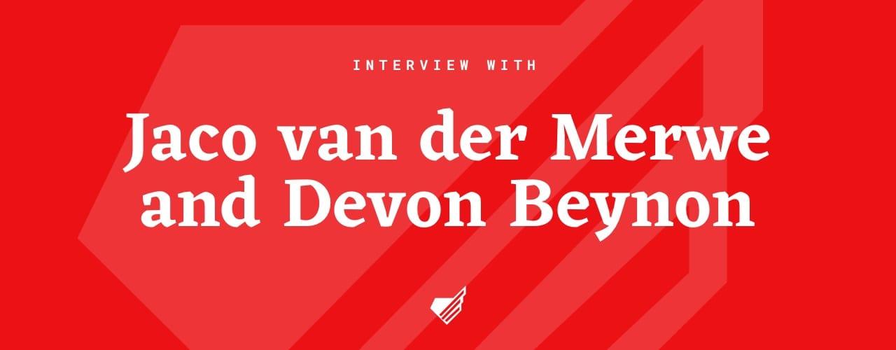 jaco-van-der-merwe-and-devon-beynon