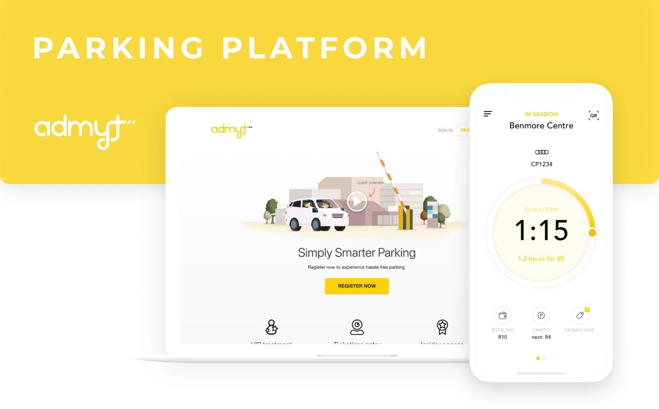 Admyt - parking platform