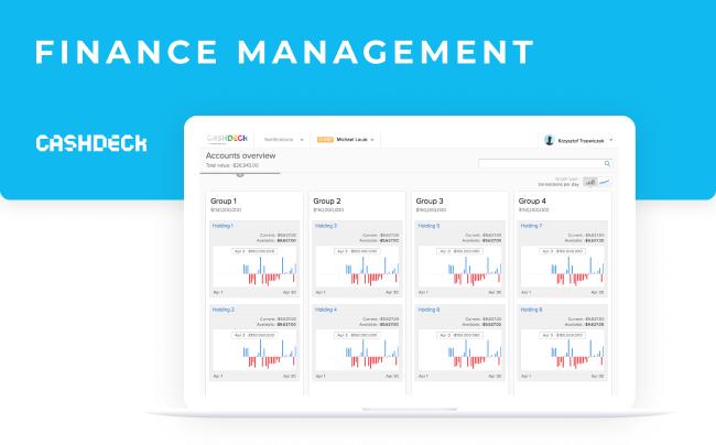 Cashdeck - finance management