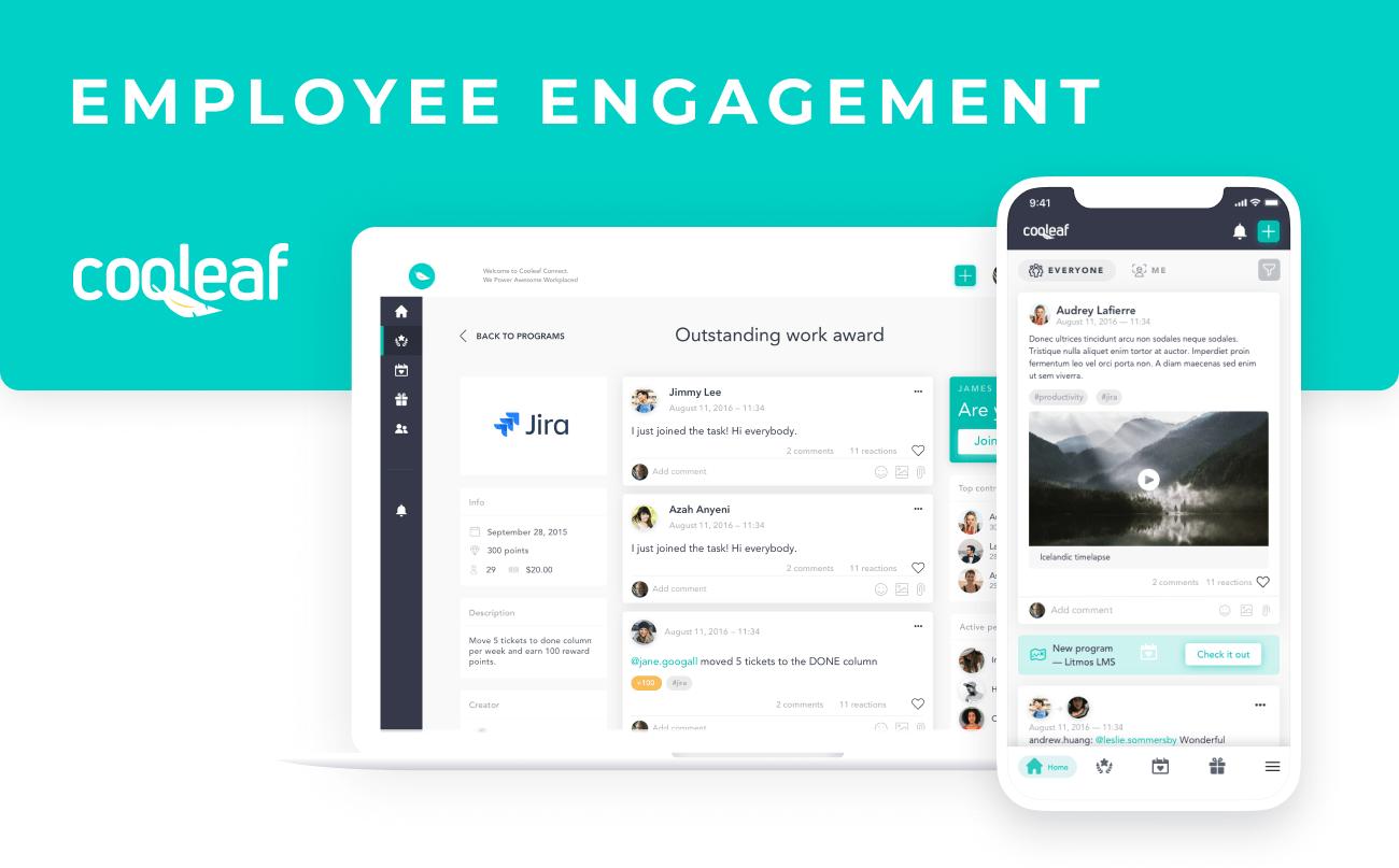 Cooleaf - employee engagement