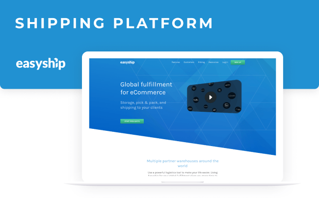 Easyship shipping platform