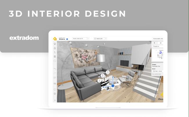 Exrtradom - 3d interior design