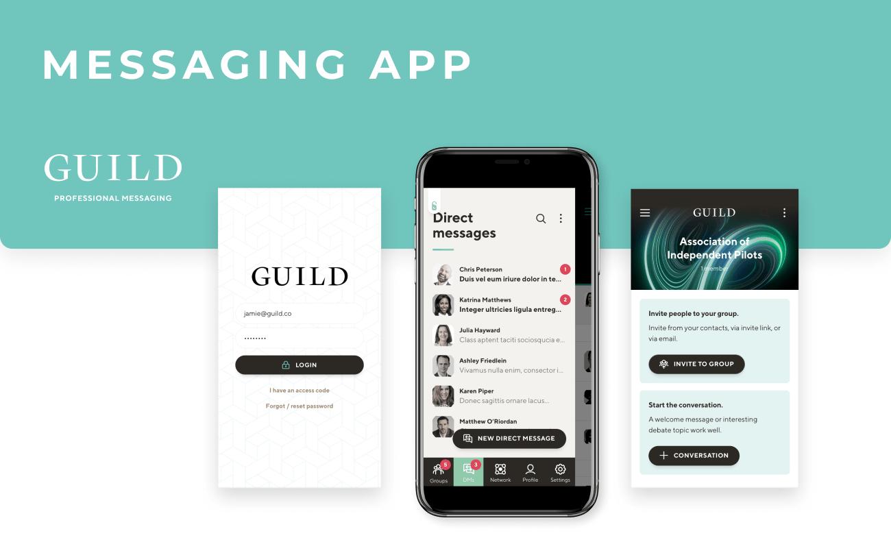 Guild - messaging app