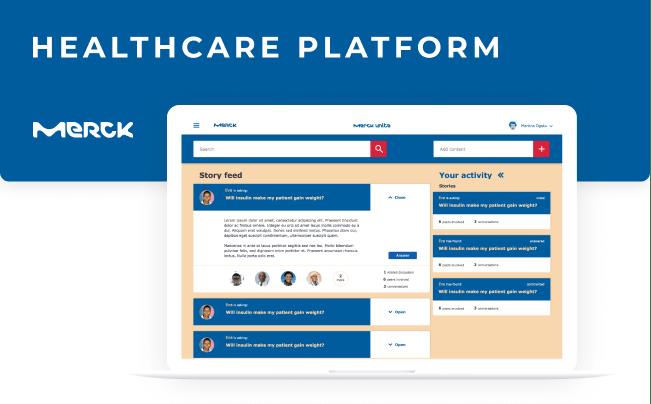 Merck Unite - healthcare platform