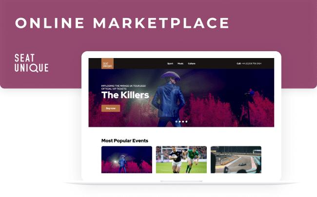Seat Unique - online marketplace
