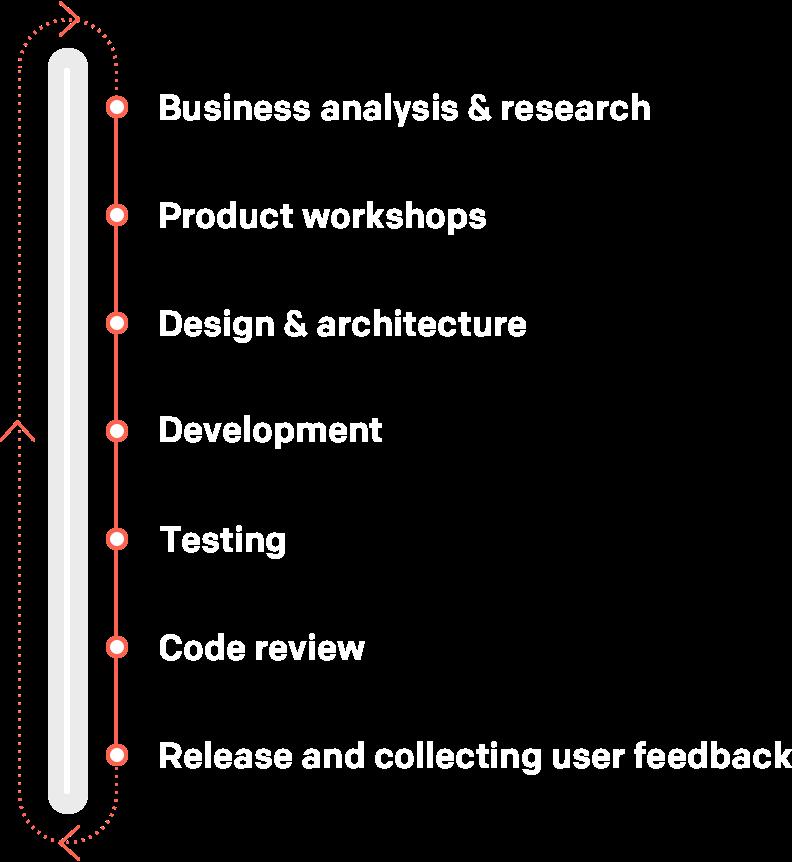 Web development process